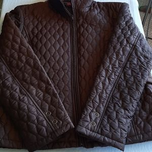 Gallery quilted jacket petite